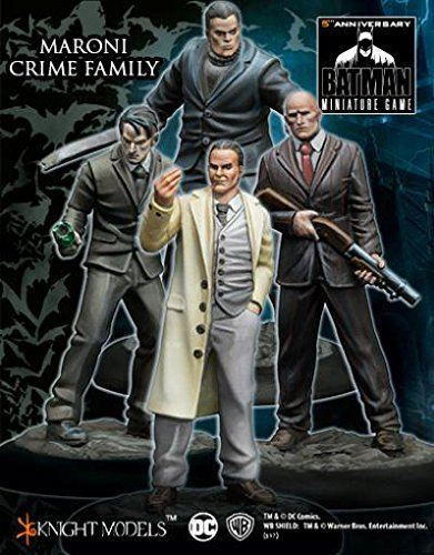Knight Models Batman Miniature Game: Maroni Crime Family by Batman Miniatures Game - Organized Criminals 35mm