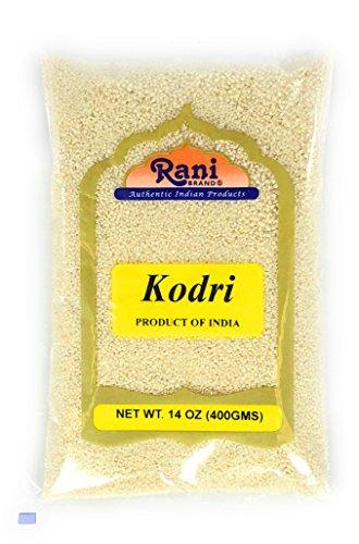 Rani Kodri (Polished Kodo Millet Seeds) Ancient Grains 400g (14oz) ~ All Natural | Gluten Free Ingredients | NON-GMO | Vegan | Indian Origin (Varagu/Kodra/Harka)