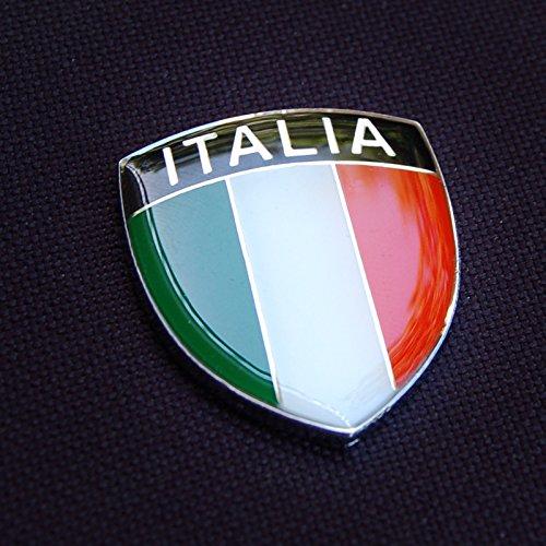 Amazing Italy Italia Show Quality Metal Decorative Emblem Decal Ornament 1.5