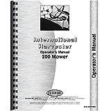 New International Harvester 200 Mower Conditioner Operators Manual