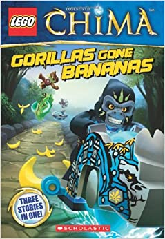 lego legends of chima gorillas gone bananas chapter book 3