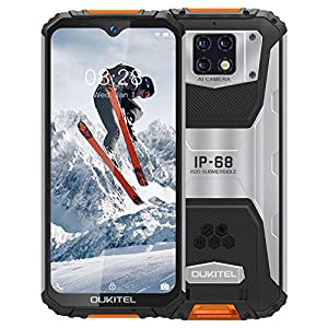 Rugged Smartphone【2020】OUKITEL WP6, Cellulare Antiurto IP68, Batteria 10000mAh(Carica Rapida), Quattro Fotocamera 16 MP… 9 spesavip
