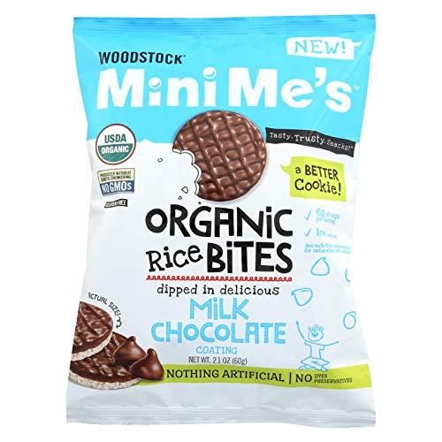 Natural SeaOrganic Wood Milk Chocolate Rice 2.1 Oz (Pack Of 8)