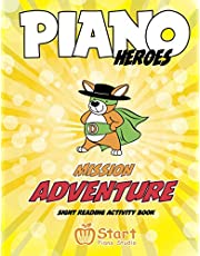 Piano Heroes: Mission Adventure Sight Reading Activity Book (1)