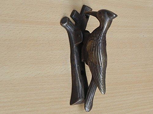 IndianShelf 1 Piece Handmade Crafted Bronze Bird Door Knockers Front Hardware (Bird Knocker Door)