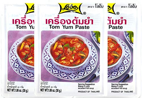 Lobo Tom Yum Paste 1.06 Oz (Pack of 3)