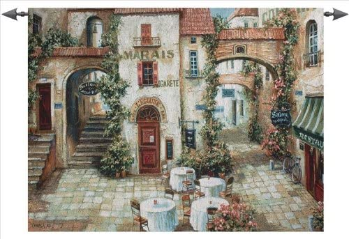 Manual Le Marais Grande Tapestry Wall Hanging, 53 X 35-Inch