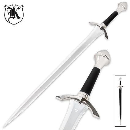 Amazon.com: Medieval Caballero Guerrero Espada corta con ...