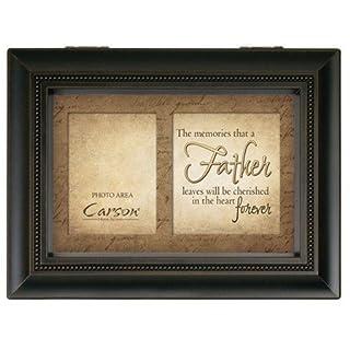 Carson Home accenti 17946Father Memories Bereavement Music Box, 8-inch by 6-Inch by 2–3/4-inch by Carson Home accenti 8-inch by 6-Inch by 2-3/4-inch by Carson Home accenti