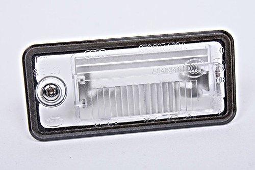 Genuine License Plate Light Lens LH Audi A3 A4 B6 B7 A5 A6 C6 A8 D3 Q7 RS4 2001-