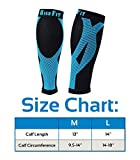 HIGH FIT Pro Calf Compression Sleeves - Enjoy Extra