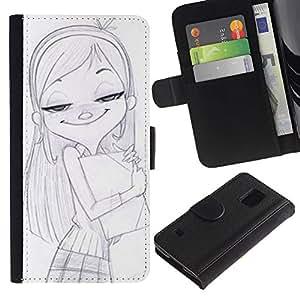 JackGot ( Disegno ) Samsung Galaxy S5 V SM-G900 la tarjeta de Crédito Slots PU Funda de cuero Monedero caso cubierta de piel