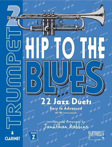 Hip To The Blues Book 2 with CD * Jazz Duets For - Book Jazz Duets