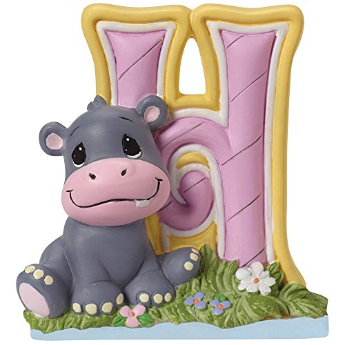 - Precious Moments,  H Is For Hippo Alphabet Resin Figurine, 153422
