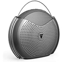 Vantrue 24 Hours Wireless Portable Bluetooth Speaker with 25W Loud Volume Dual Driver, Bluetooth V4.2, Enhanced Bass, Crisp highs, Built-in Mic for Beach, Home, Outdoor, Shower Splashproof