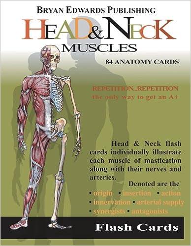 Head & Neck Muscles (Flash Cards): 9781878576118: Medicine & Health ...