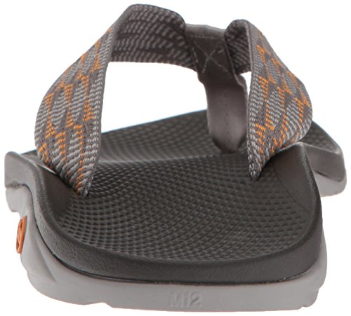 Chaco Mens Flip Ecotread Athletic Sandal Grupperade Sol