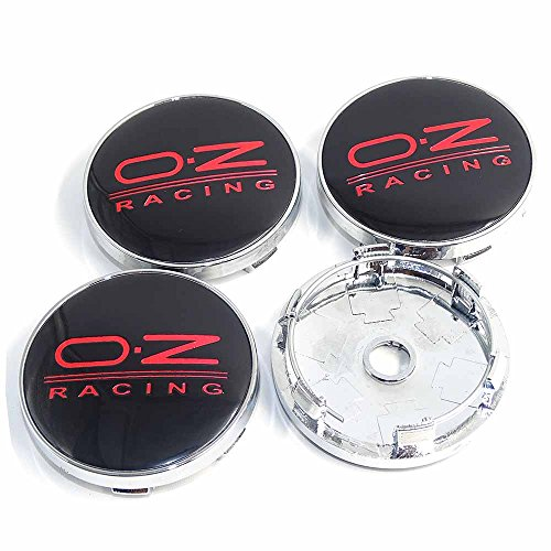 4pcs 60mm OZ Racing Car Badge Emblem Sticker Car Wheel Center Cover Cap Hub for Superb Auto Accessories