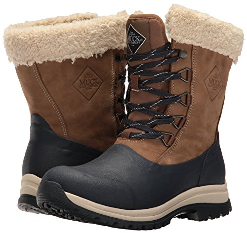 Donna Donna Donna Dark Dark Dark Dark Muck Gomma Mid Stivali di Arctic Navy Lace Totally Otter Marrone Eclipse Boots w7qrwY0
