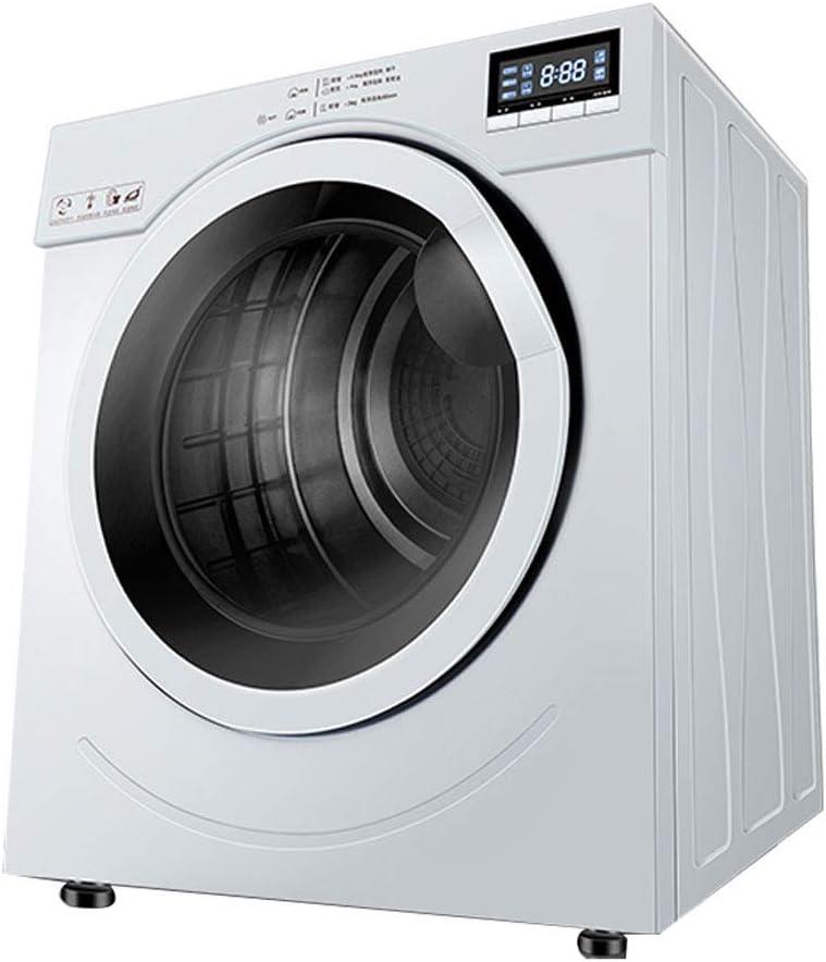 Secadora Completamente Automática, Secadora De Ropa Doméstica Antiarrugas Y Sin Hierro, Montado En La Pared, 6 Kg De Capacidad