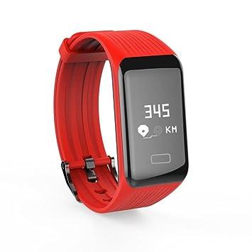 wawer Y1 Fitness Tensiómetro Pulsómetro De Oxígeno Smart Watch brazalete muñeca Longitud 248 * 24 *