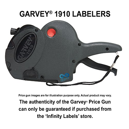 Garvey 1910 Price Guns [3 Labeler Value Pack]: 1910-8 Layout #1859 by Infinity Labels