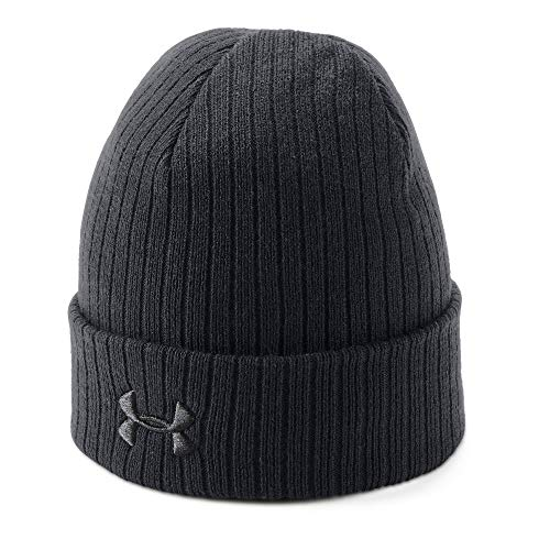 Under Armour Men's Tac Stealth Beanie 2.0, Black (001)/Black, One Size Fits All