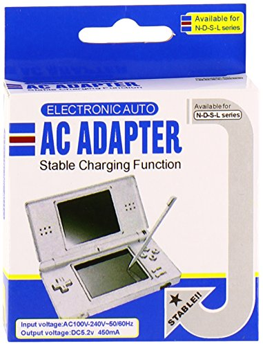 Wall Charger for Nintendo DS Lite (Lifetime Warranty, Bulk Packaging) (Nintendo Ac Charger Lite Ds)
