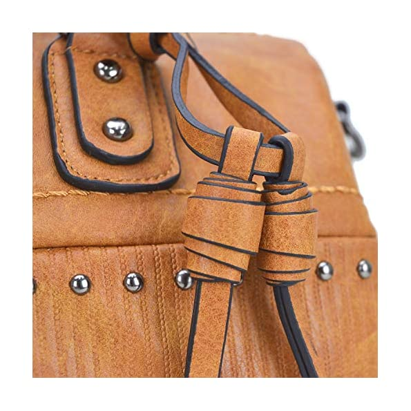 Dasein-Womens-Barrel-Purse-Satchel-Handbag-Top-handle-Work-Tote-Shoulder-Bag-for-Ladies-with-Long-Strap