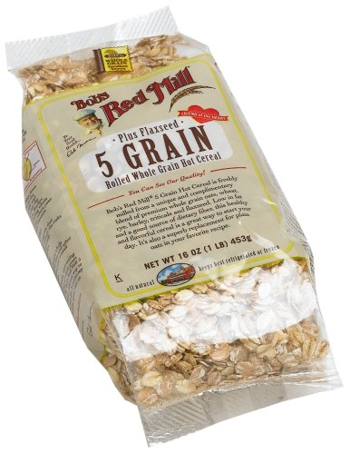 Cereal Grain 5 (Bob's Red Mill 5 Grain Rolled Cereal (4x16 Oz))
