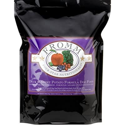 Fromm Four-Star Duck & Sweet Potato Dog Food, 15 lb