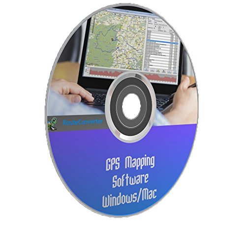 GPS Mapping Route Tracking Navigation Waypoint RouteConverter Windows Mac PC Software