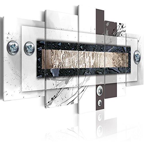 murando - Cuadro en Lienzo 200x100 - Impresion de 5 Piezas Material Tejido no Tejido Impresion Artistica Imagen Grafica Decoracion de Pared Abstracto 020101-157