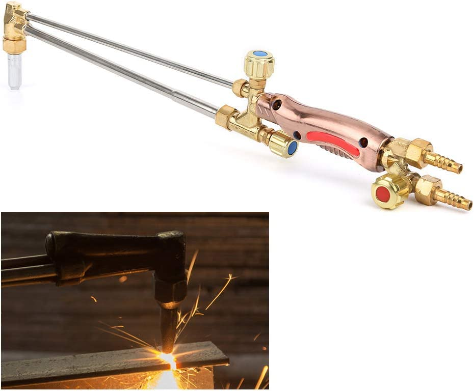 Machinery G01-100 Durable Hardware Soldering Equipment Injector Stainless Steel Pipe with High Temperature Resistant Cutting Nozzle Cutting Torch for Construction Sites