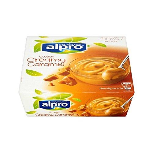 Alpro Caramel Soya Dessert 4 x 125g - (Pack of 4) by Alpro