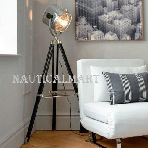 Industrial Tripod Spotlight Giant Floor lamp searchlight