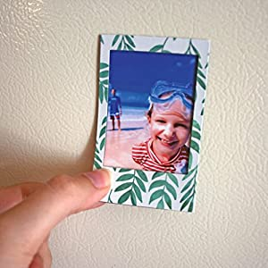 Polaroid 6 Designer Magnetic Picture Frames For 2x3 Photo Paper (Snap, Zip, Z2300)