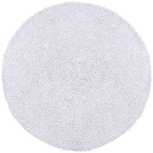 rug plush fur great amazon kitchen white or area cheap round grey circle faux rugs large
