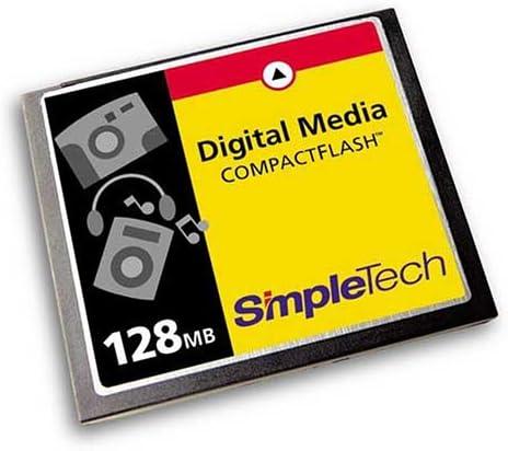 Simple Tech Cf 128 0 Mb Compactflash Card 128mb Typ I Kamera