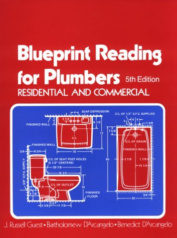 Blueprint Reading for Plumbers in Residential & Commercial (Blueprint Reading Series) by Cengage Learning