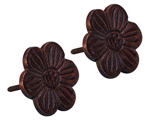 Flower Knob Backplate - 7