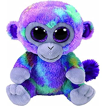 Ty Beanie Babies Zuri The Monkey reg 6
