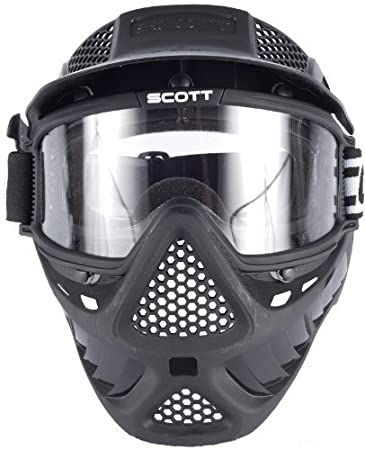 SCOTT Vectra Single Airsoft Paintball Full Face Mask / Goggle by Perfect