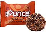 Bounce Orange Cacao Protein Energy Ball – Whey Protein, Gluten Free, Non-GMO, Vegetarian, On The Go Snack – 1.48 Ounce, 12 count