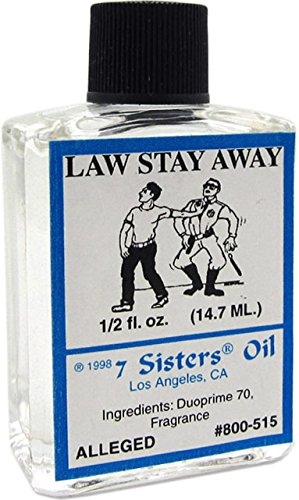 7 Sisters Of New Orleans Perfumed Anointing Oil - LAW STAY AWAY 1/2oz