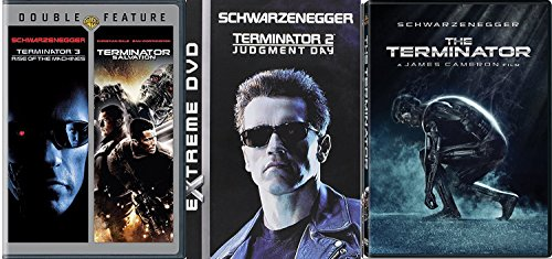 - The Terminator 1/2/3 Sci-Fi classic DVD Judgement Day / Rise of the Machines / Salvation 4 Feature Movie Collection Set