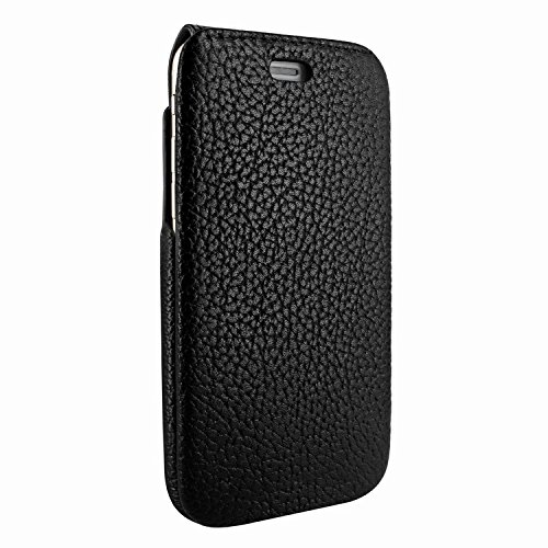 Piel Frama 760 Black Karabu iMagnumCards Leather Case for Apple iPhone 7 / 8
