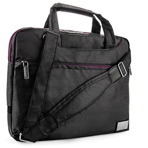 Nylon Lightweight Compact Messenger Bag For Nokia Lumia 2520 10.1-inch Tablet (All Models)