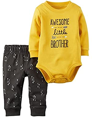 Baby Boys' Bodysuit Pant Sets 121g821