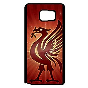 Liverpool Football Club Phone Case Special Design LFC Liverpool FC Logo Samsung Galaxy Note 5 Cell Phone Cover Case Premier League Team Logo Series
